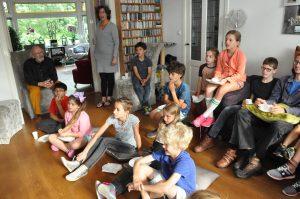 Leerlingen bijeenkomst